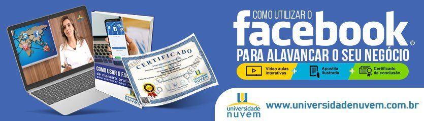 Curso Facebook Universidade Nuvem