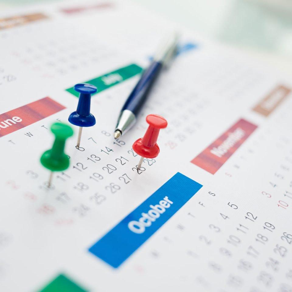 A importância da agenda e dos lembretes